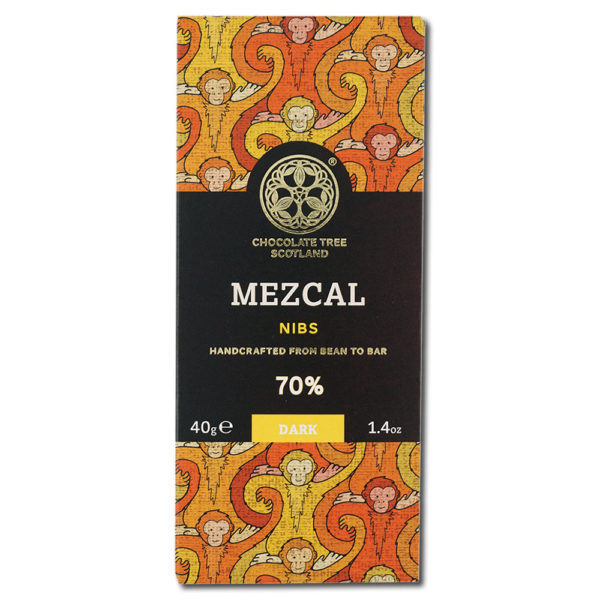 Chocolate Tree Mezcal Nibs 70% tumma suklaa (40g) 1