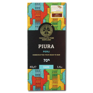 Chocolate Tree Chililique Piura Peru 70% tumma suklaa (40g)