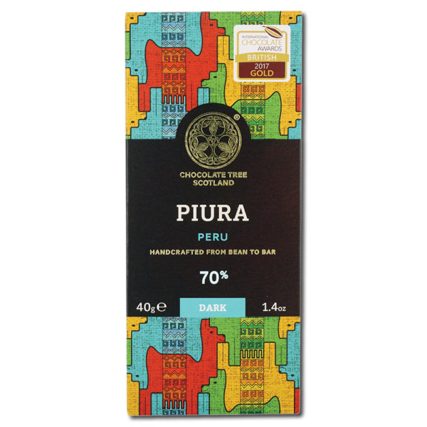 Chocolate Tree Chililique Piura Peru 70% tumma suklaa (40g) 1