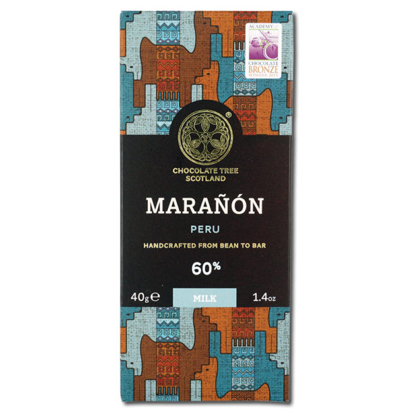 Chocolate Tree Peru Marañón Milk 60% (40g) 1