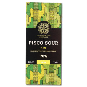 Chocolate Tree Pisco Sour Nibs 70% tumma suklaa (40g)