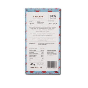 Ajala Chocolate Cascara 60%
