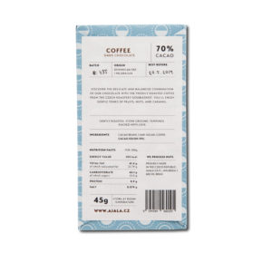 Ajala Chocolate Coffee 70% tumma suklaa