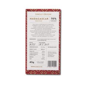 Ajala Chocolate Madagascar Åkesson 70% tumma suklaa