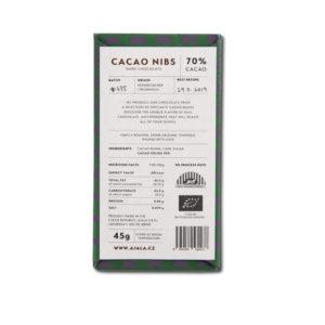 Ajala Chocolate Cacao Nibs 70% tumma suklaa