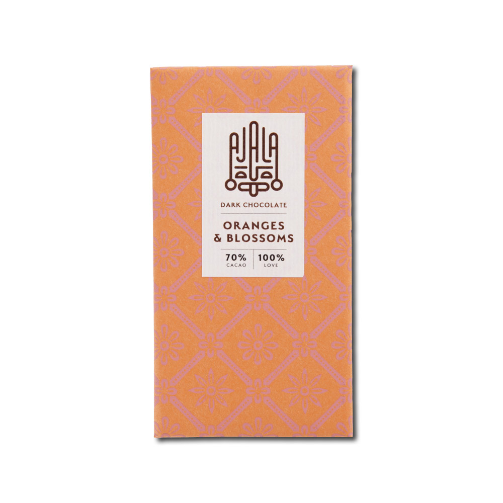 Ajala Chocolate Oranges & Blossoms 70%