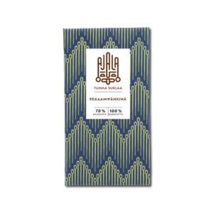 Ajala Chocolate Pekaanipähkinä 70% tumma suklaa