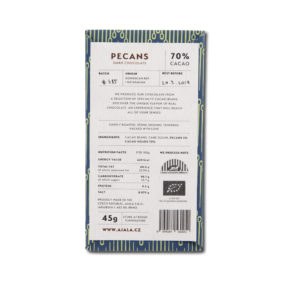 Ajala Chocolate Pecans 70%