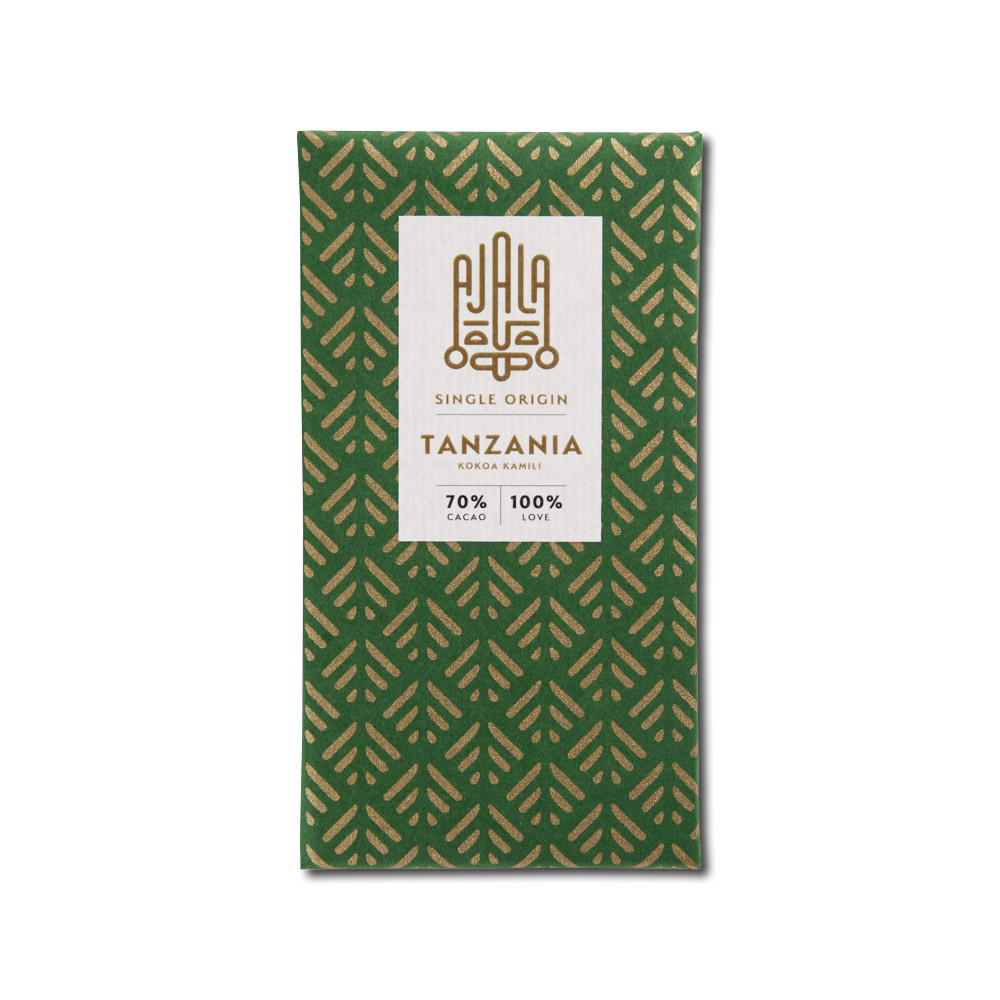 Ajala Chocolate Tanzania Kokoa Kamili 70%