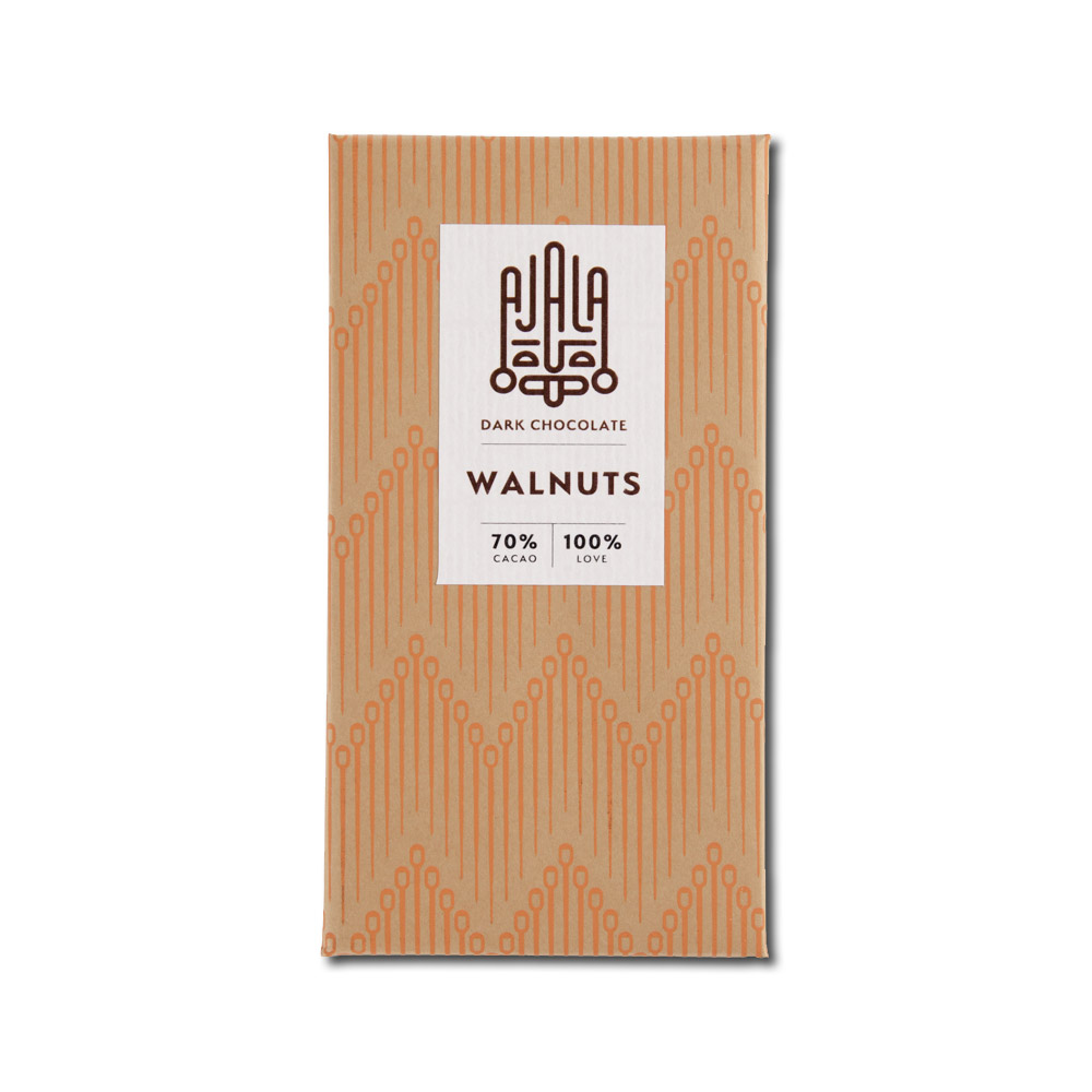 Ajala Chocolate Walnuts 70%