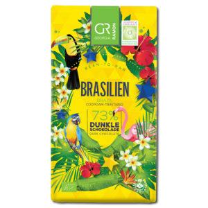 Georgia Ramon Brasilien 73% tumma suklaa