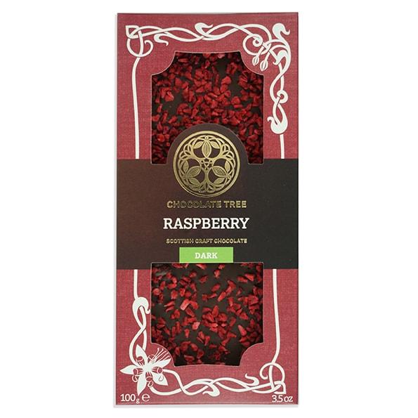 Chocolate Tree Raspberry 70% tumma suklaa (100g) 1