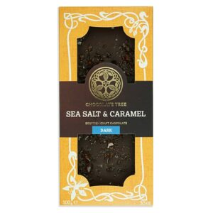 Chocolate Tree Sea Salt & Caramel 70% tumma suklaa (100g)