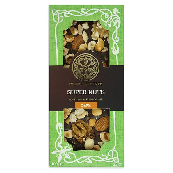 Chocolate Tree Supernuts 70% tumma suklaa (100g) 1